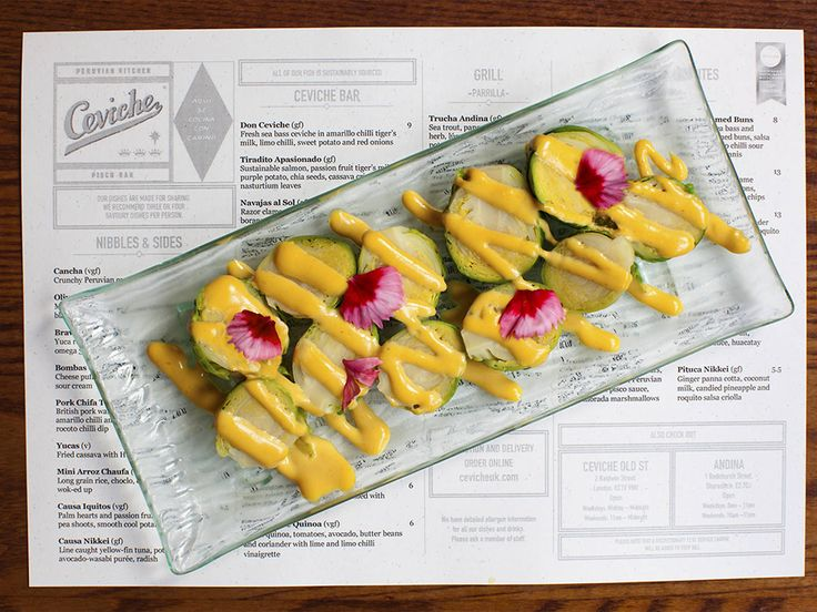 Ceviche Soho. Peruvian food naturally lends itself to vegan options. Actively cater for vegans. Every venue has dedicated vegan menu.