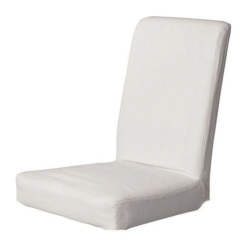 Henriksdal housse pour chaise ikea la housse lavable de la for La housse de chaise