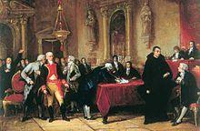 Venezuela – Unterzeichnung der Unabhängigkeitserklärung, Gemälde von 1876 (Martin Tovar y Tovar)