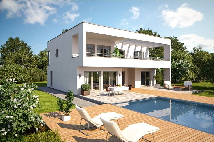Bärenhaus Bauhaus Fine Arts 260 Garten weiss Haus