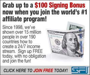 Come and Join a Great Team.  Oh, Yeah and get a Signing Bonus while you are at it.  Visit http://davesmoneymakingtips.com/sfi-signing-bonus to learn more!
