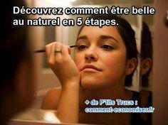 Être belle au naturel, c'est très mode et surtout plus classe et plus léger. Je vous donne mes astuces pour sublimer votre visage et prendre soin de vous Rien ne vaut la beauté révélée de vos atouts naturels, mais pour ça il faut quelques conseils simples et pas chers. Découvrez l'astuce ici : http://www.comment-economiser.fr/comment-etre-belle-au-naturel.html?utm_content=bufferefdf3&utm_medium=social&utm_source=pinterest.com&utm_campaign=buffer