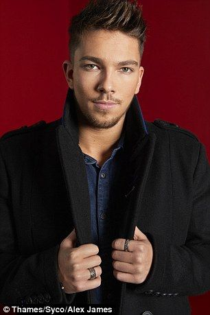 And then there were three: The final X Factor contestants Matt Terry (L), Saraa Aalto (R) and 5 After Midnight took part in their final photoshoot on Friday as they gear up for the last episode