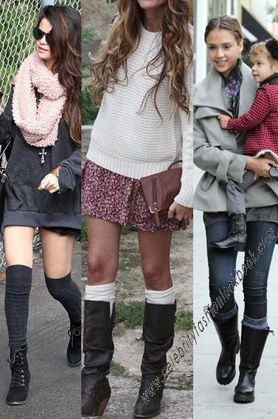 To keep you warm and stylish -Cable Knit Leg Warmers http://celebrityfashionlookbook.com/so5-cable-knitted-leg-warmers-brown.html #cute #style #legwarmers #trendy