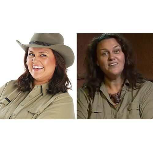 Chrissie Swan has been shedding kilos before our eyes as she braves jungle challenges on I'm a Celebrity Get Me Out of Here!.