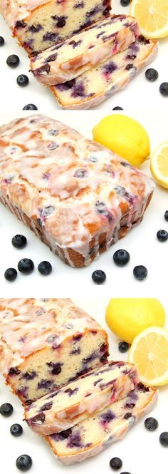 Lemon-Blueberry Yogurt Loaf | Click Pic for 25 Easy Mothers Day Breakfast in Bed Ideas | Homemade Brunch Ideas for a Crowd