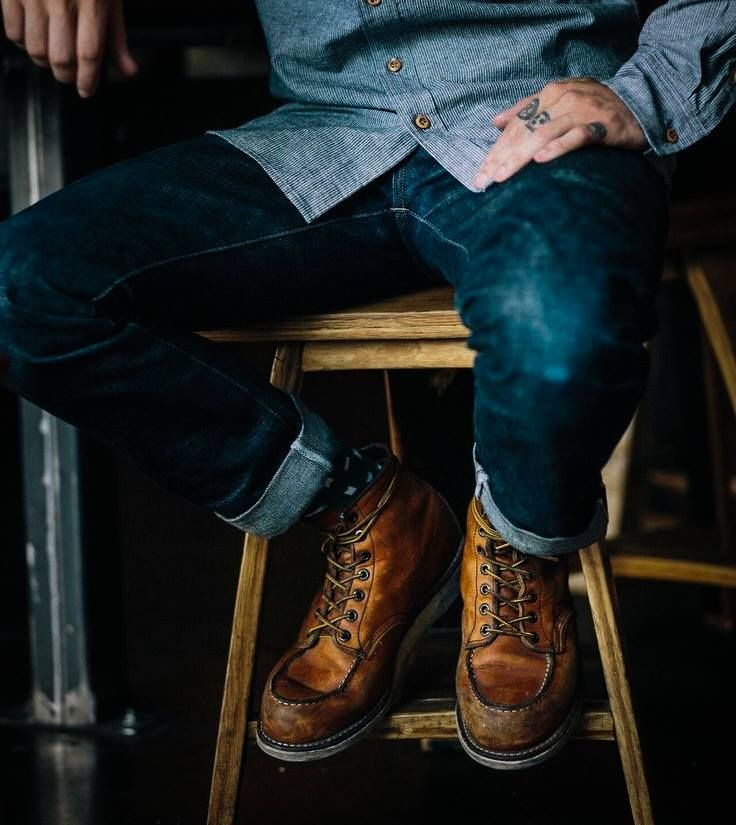 """Red Wing 6"""" inch Moc Toe #875"""