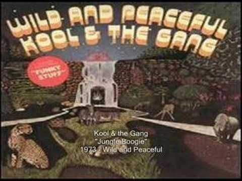 ▶ Kool & the Gang - Jungle Boogie.  The jungle can be an oppressive place.  If it starts to get to you, grab the Jungle Boogie, and get it on.