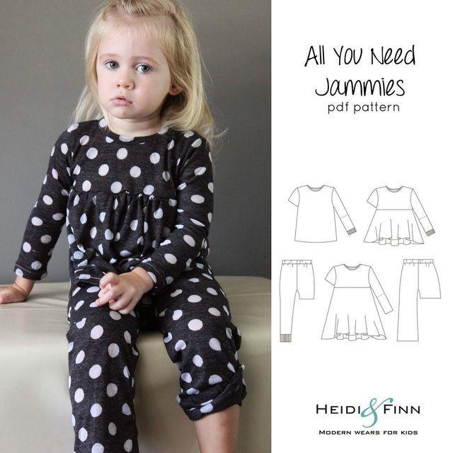 Test eens een pyjama patroon! (via Bloglovin.com )