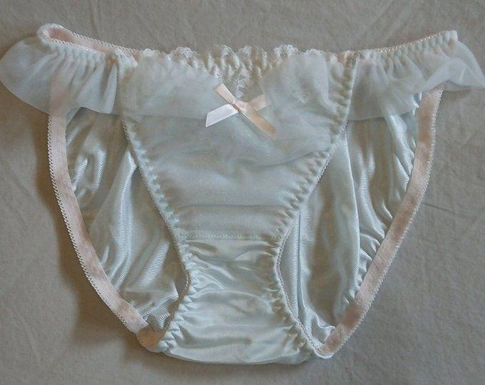 Silky Hipster Bikini Panties by Jintana Lingerie size 10 AusUK /& 5US