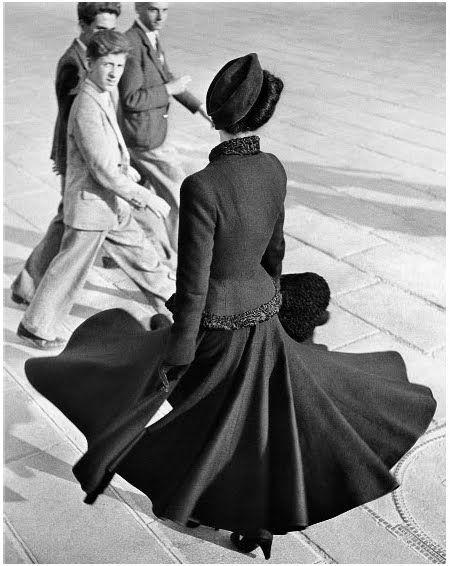 Dior's new look, Paris, 1947, by Richard Avedon