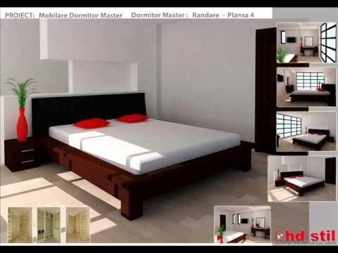Amenajare dormitor master   design si executie