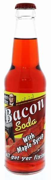 Bacon Soda with Maple Syrup
