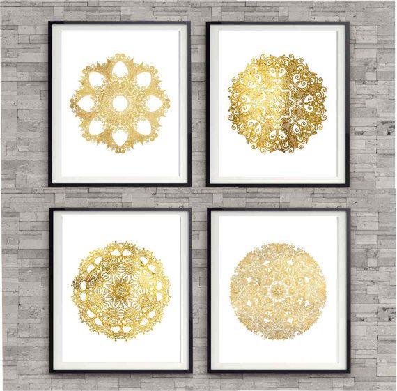 17 Best Ideas About Gold Walls On Pinterest