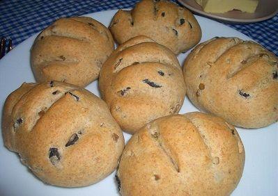 Zeytinli Dereotlu Ekmekler Tarifi