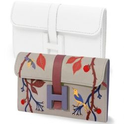 Love these!  Can't afford any hermes clutches, an easy way to bring some designer wear into your life.  I use mine for my cheque book! DIY Hermes Clutch, in 6 different patterns!