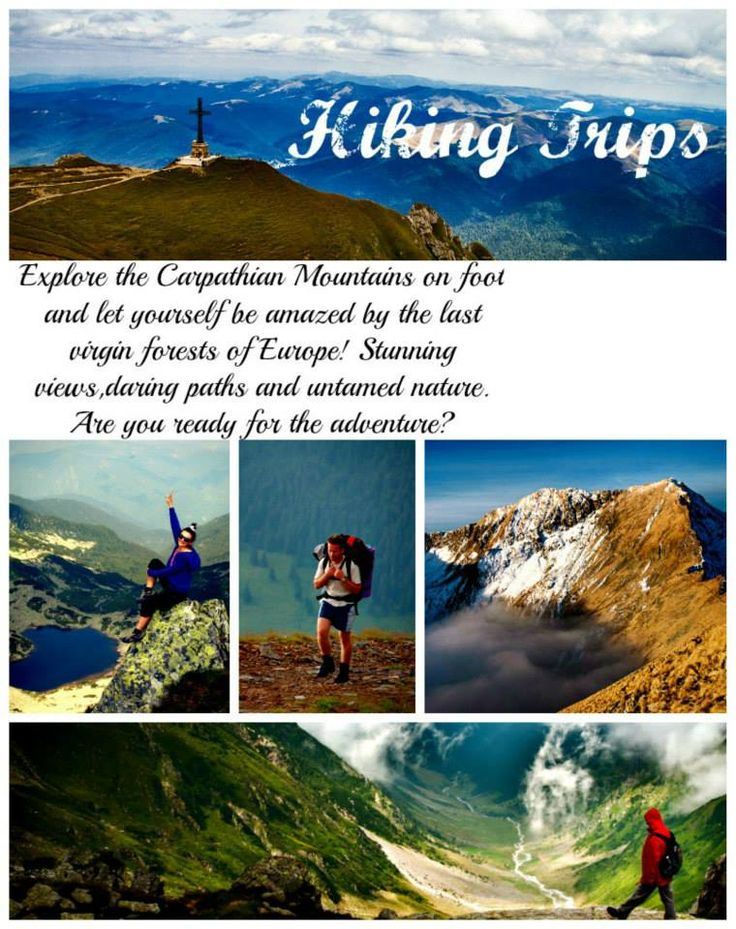 Admire the Carpathian Mountain and enjoy stunning views in hiking trips