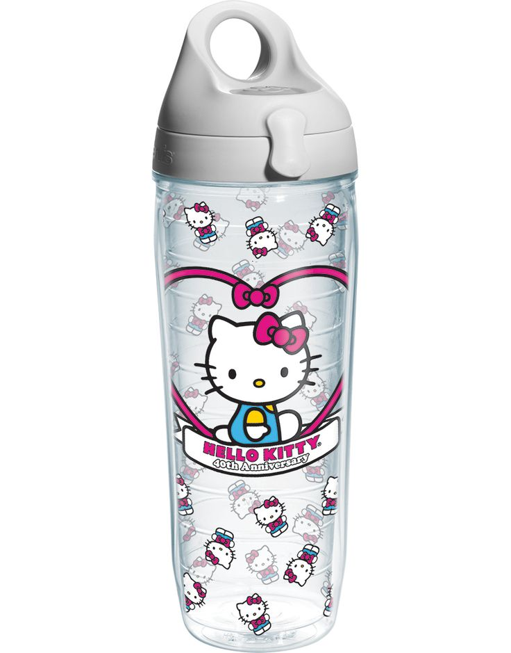 Hello Kitty- 40th Anniversary Wrap - Wrap with Lid | Water Bottle | Tervis®