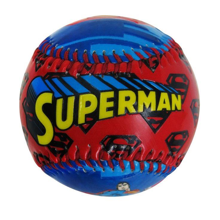 Superman Image Youth Baseball #SupermanGifts #SupermanGiftIdeas #SupermanFan