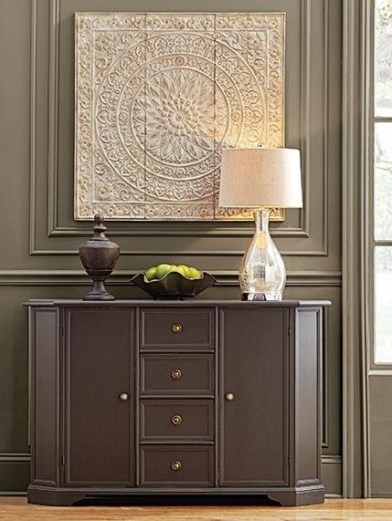 Hide Your Best Serving Dishes And Dinnerware In A Beautiful Sideboard The Dining Room