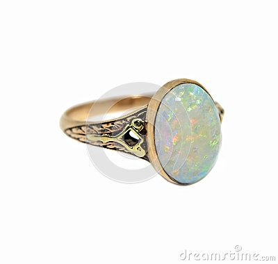 Antique Opal Rings For Sale Vintage Opal Ring Stock