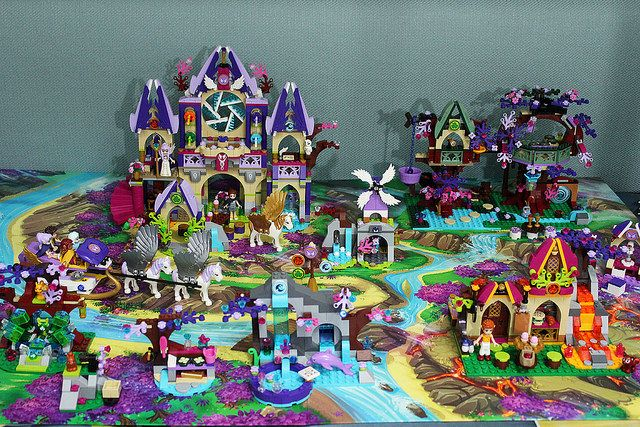 lego friends roller coaster instructions
