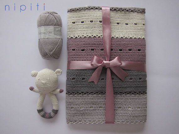46 best Crochet Baby Blankets images on Pinterest ...