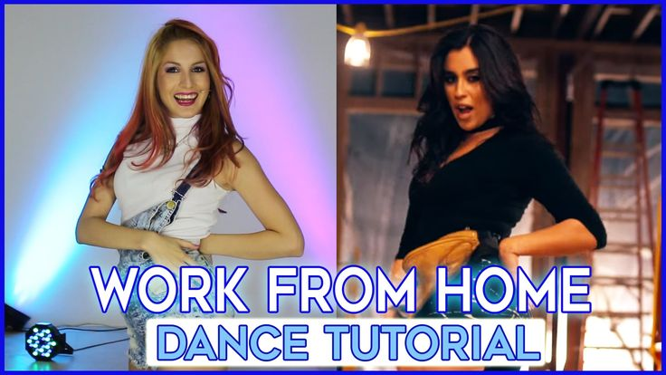 Fifth Harmony WORK FROM HOME | DANCE TUTORIAL - Aprende a bailar paso a ...