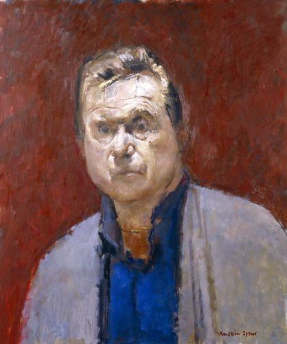 Francis Bacon by Ruskin Spear. Oil on board, 1984. National Portrait Gallery, London.