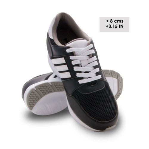 Elevator shoes for Men. Add 3.15 inches- 8 cms to your height discretely. 100% Leather and comes with the Zerimar guarantee. Sports shoes/casual style. Design with lace and finished in waterproof suede leather with contrast stitching. 100% leather lining. These lace-up shoes are suitable for combination with chinos or jeans.