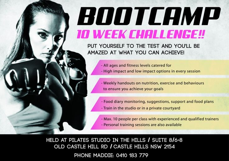 bootcamp flyers