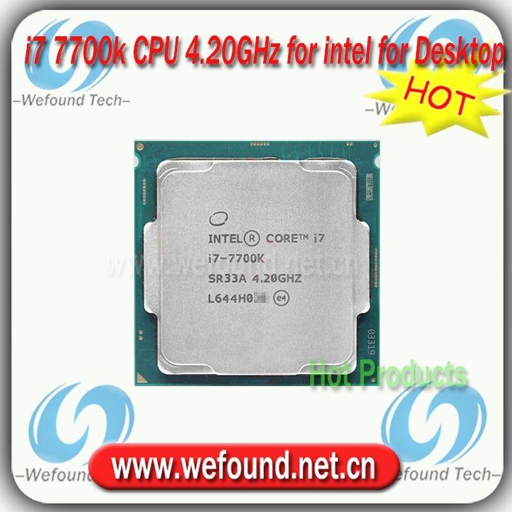 403.00$  Buy now - http://alih6n.worldwells.pw/go.php?t=32792003618 - Original for Intel Core i7 7700K Processor 4.20GHz /8MB Cache/Quad Core /Socket LGA 1151 / Quad Core /Desktop I7-7700K CPU 403.00$
