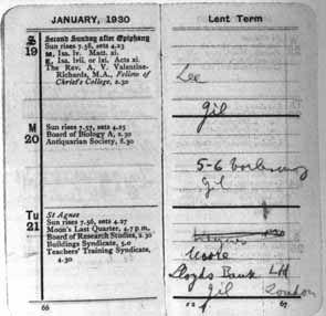 Ludwig Wittgenstein: Wittgenstein's Pocket Diary