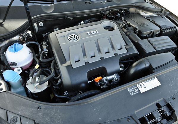 Motor del Volkswagen Passat TDI  www.autosdiamond.com