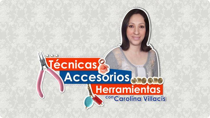 #DIY #Técnicas, #Accesorios, #Herramientas con Carolina Villacis Program...
