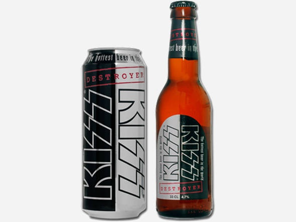 Destroyer Beer, a cerveja da banda KISS: Banda Kiss