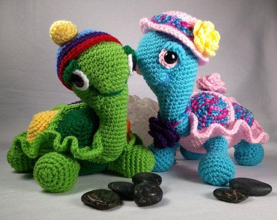 Amigurumi Little Bigfoot Turtle : 1000+ ideas about Crochet Turtle Pattern on Pinterest ...