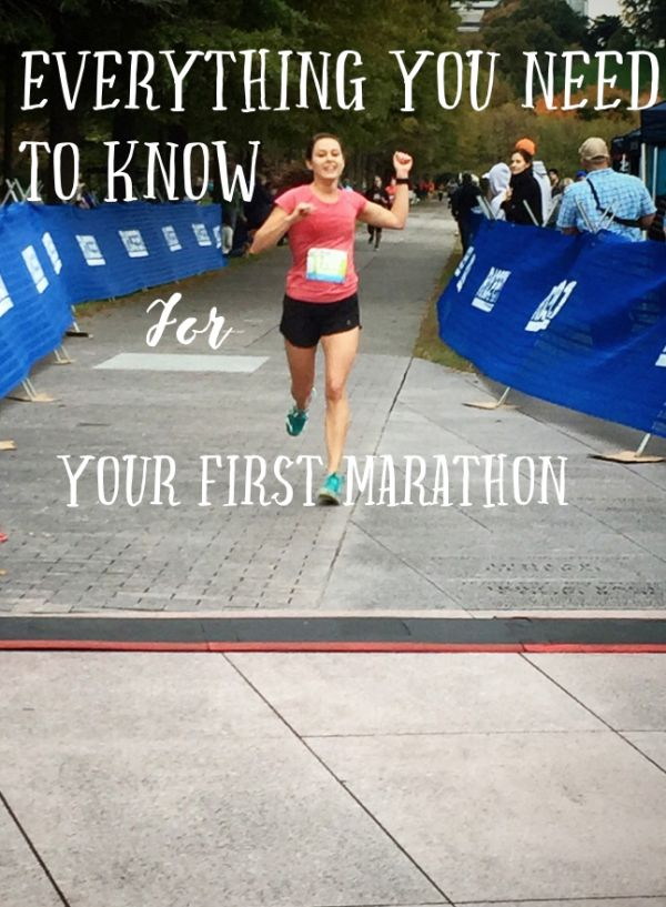 Guide to Your First Marathon |  Every last detail that you need before running your first marathon or half marathon