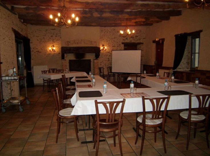 Manoir de la Haute Pilais - Salle en U.