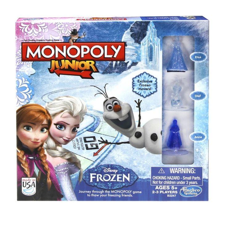 Disney Frozen monopoly junior Engelse Versie | Disney Frozen | kidzDzain