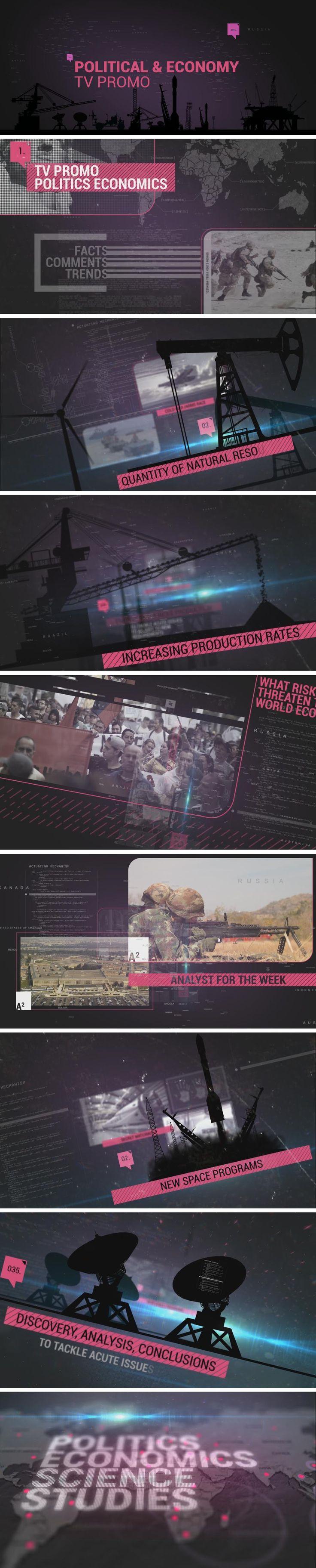 Political & Economy TV Promo (Abstract)