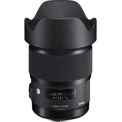 Sigma 20mm f1.4 DG HSM A Lens - Canon Fit