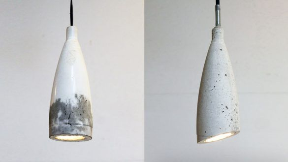 Dining Best Homemade Modern Ep9 Concrete Pendant Lamp Pertaining