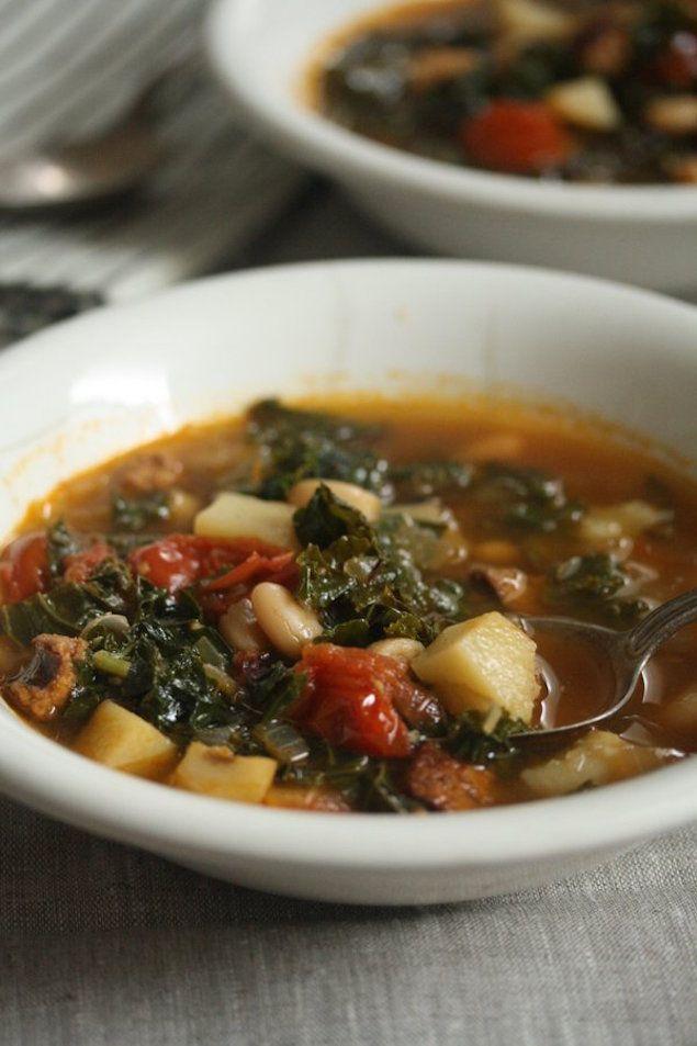 Caldo Verde: Portuguese Kale Soup