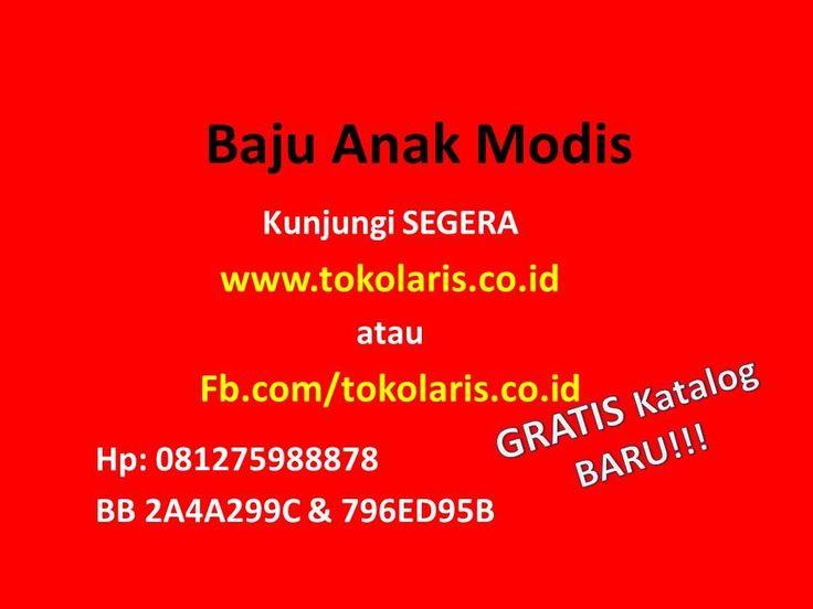 081275988878 | Baju Anak Modis  | Baju Anak Modis di Pekanbaru