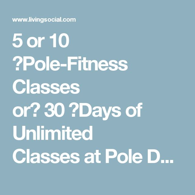 5 or 10 Pole-Fitness Classes or30Days of Unlimited ClassesatPole Dance Charlotte(Up to 69% Off)