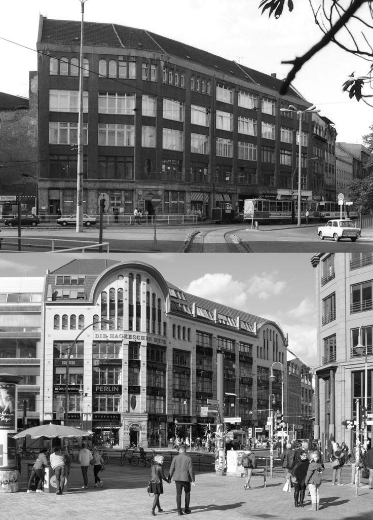 Hackesche Höfe, 1992 und 2013