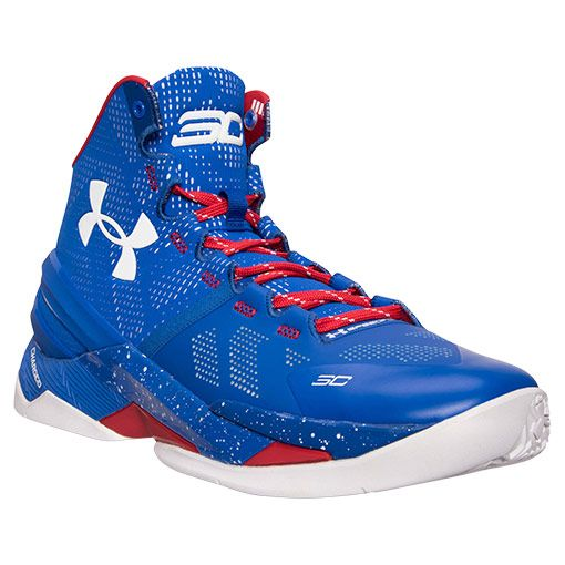 Men's Under Armour Curry 2 Basketball Shoes - 1259007 401 | Finish Line