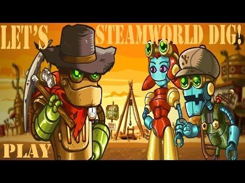 Let's Play SteamWorld Dig part 14: A Fistful of Dirt (Hardcore Indie Mining) - MyDiamondSkeleton!  Love Minecraft? Then you may like this little Indie game! Join me in my let's play series as I venture through this hardcore mining game.   Can I get 30 likes for this awesome game ;)?!  I got it for less than $5 on Steam.