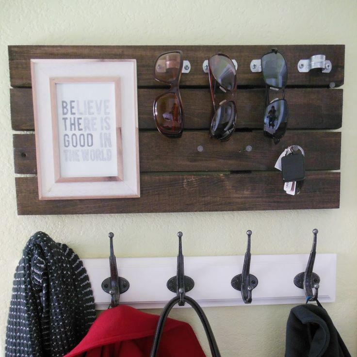 DIY Sunglasses & Key Holder
